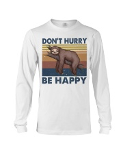 Dont Hurry Be Happy Long Sleeve Tee thumbnail