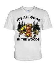 It Is All Good V-Neck T-Shirt thumbnail