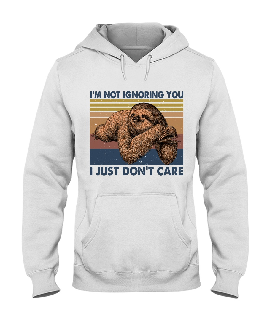 Im Not Ignoring Hooded Sweatshirt