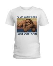 Im Not Ignoring Ladies T-Shirt thumbnail