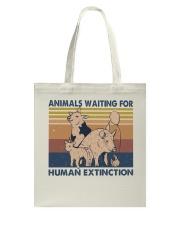 Animals Waiting For Tote Bag thumbnail