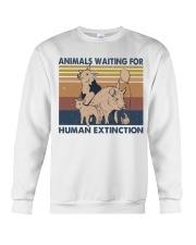 Animals Waiting For Crewneck Sweatshirt thumbnail