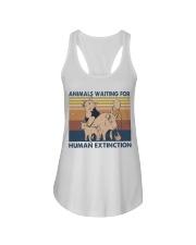 Animals Waiting For Ladies Flowy Tank thumbnail