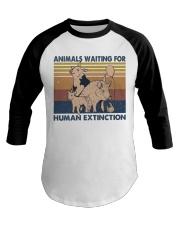 Animals Waiting For Baseball Tee thumbnail