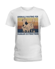 Animals Waiting For Ladies T-Shirt thumbnail