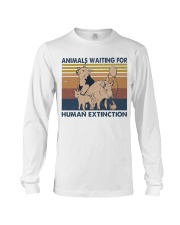Animals Waiting For Long Sleeve Tee thumbnail