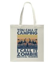 You Call It Camping Tote Bag thumbnail