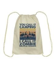 You Call It Camping Drawstring Bag thumbnail