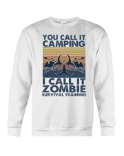 You Call It Camping Crewneck Sweatshirt thumbnail