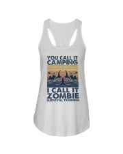 You Call It Camping Ladies Flowy Tank thumbnail
