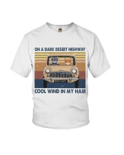 On A Dark Desert Highway Youth T-Shirt thumbnail