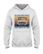 On A Dark Desert Highway Hooded Sweatshirt front