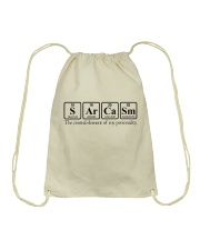 Sarcasm Funny Shirt Drawstring Bag tile