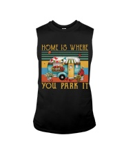 Home Is Where You Park Sleeveless Tee tile