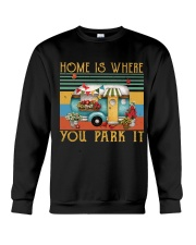 Home Is Where You Park Crewneck Sweatshirt thumbnail
