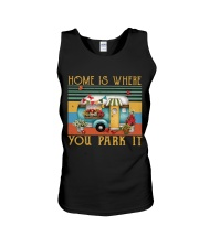Home Is Where You Park Unisex Tank thumbnail