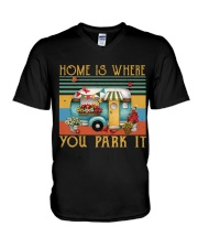 Home Is Where You Park V-Neck T-Shirt thumbnail