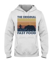 The Original Fast Food Hooded Sweatshirt front