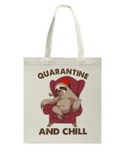 Quarantine And Chill Tote Bag thumbnail
