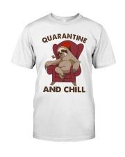 Quarantine And Chill Classic T-Shirt thumbnail