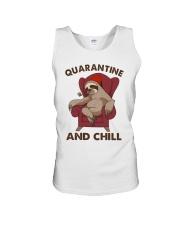 Quarantine And Chill Unisex Tank thumbnail