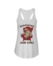 Quarantine And Chill Ladies Flowy Tank thumbnail