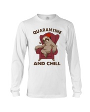 Quarantine And Chill Long Sleeve Tee thumbnail