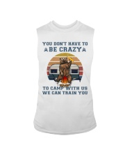 You Dont Have To Be Crazy Sleeveless Tee thumbnail