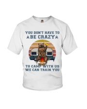 You Dont Have To Be Crazy Youth T-Shirt thumbnail