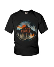 I Hate People Youth T-Shirt thumbnail