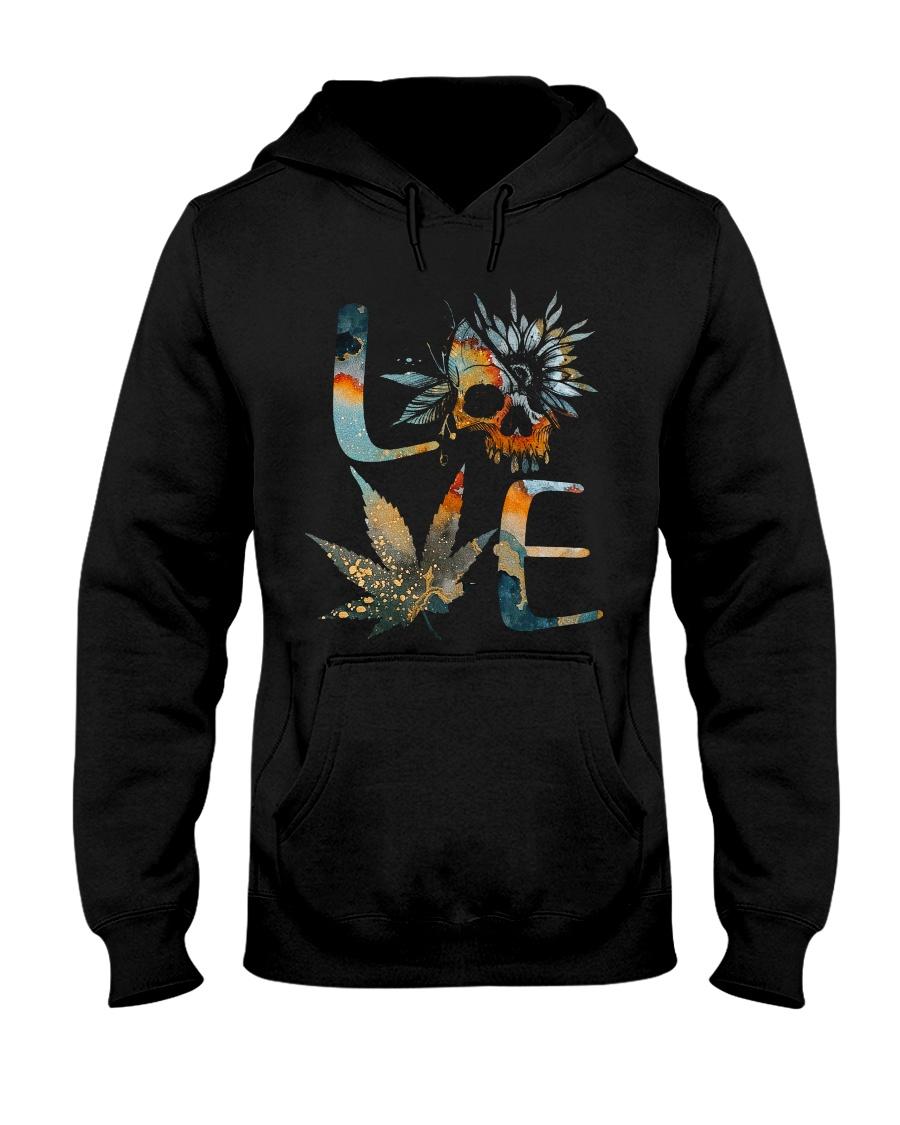 Love SKull Hooded Sweatshirt
