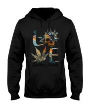Love SKull Hooded Sweatshirt front