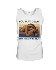 You May Delay Funny Sloth Unisex Tank tile