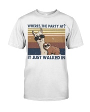 Where The Party At Classic T-Shirt thumbnail