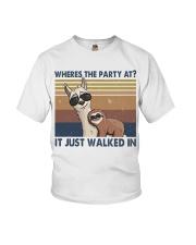 Where The Party At Youth T-Shirt thumbnail