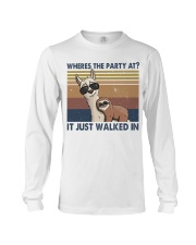 Where The Party At Long Sleeve Tee thumbnail