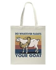 Do Whatever Floats Tote Bag thumbnail
