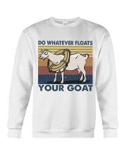 Do Whatever Floats Crewneck Sweatshirt thumbnail