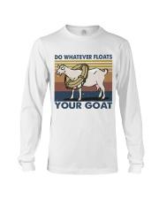 Do Whatever Floats Long Sleeve Tee thumbnail