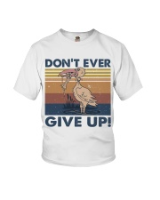 Dont Ever Give Up Youth T-Shirt thumbnail