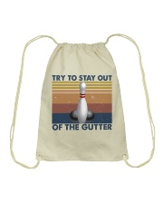 Try To Stay Out Drawstring Bag thumbnail