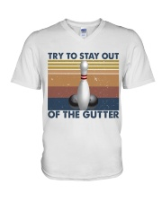 Try To Stay Out V-Neck T-Shirt tile