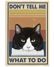 Dont Tell Me Funny Cat 11x17 Poster front
