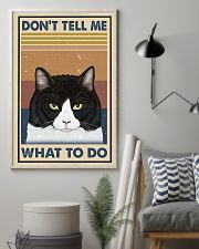 Dont Tell Me Funny Cat 11x17 Poster lifestyle-poster-1