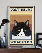 Dont Tell Me Funny Cat 11x17 Poster lifestyle-poster-2
