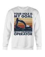 Your hole Is My Goal Crewneck Sweatshirt thumbnail