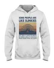 Some People Are Like Slinkies Hooded Sweatshirt front