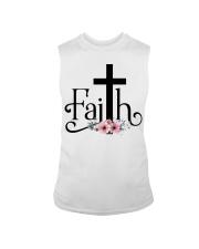 Faith Pink FLower Sleeveless Tee thumbnail