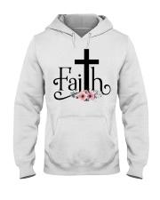Faith Pink FLower Hooded Sweatshirt thumbnail