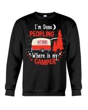 Im Done Peopling Crewneck Sweatshirt thumbnail